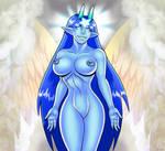 Wings Of Baphomet III by curtsibling