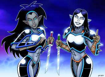 Hakati And Irsha Return by curtsibling
