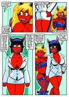 Scorch Drow Syndrome Page 4 by curtsibling