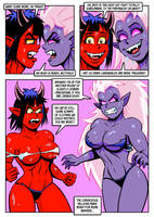 Scorch Drow Syndrome Page 24 by curtsibling