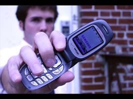 Phones are cooler than Guns... by Nekosxe
