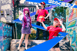 The Devil is a Part-Timer!    ---Chiho Sasaki by sunnydayhap