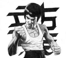 Bruce Lee by UrbanNinja39