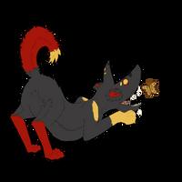 Shiba Monster by destructoPop