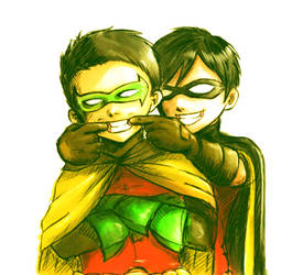 Dick and Damian by MusicLover2754
