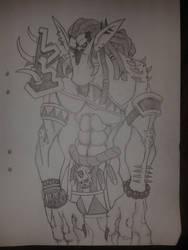Darkspear Troll by pannekagan