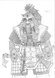 Tolkien Dwarf by pannekagan