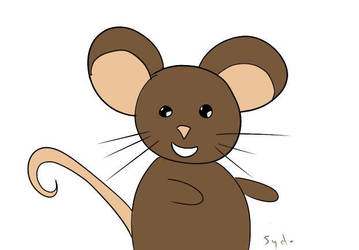 Happy mouse is happy! by Sydoline