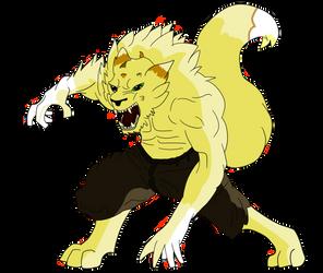 Werewolf acorn by Acornflash
