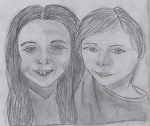 Two Friends Sketch by ShadowWip