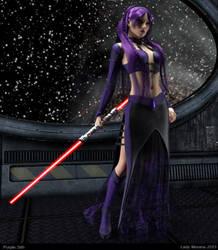 Purple Sith by Lady-Morana