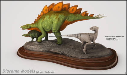 Stegosaurus Miniature by LiToKi