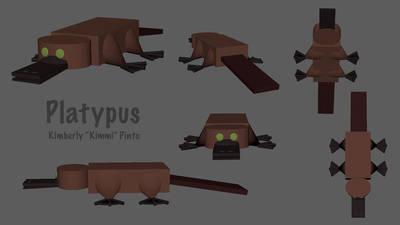 Platypus by squeaken1