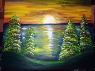 Sunset by squeaken1