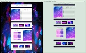 [F2U] - Purple Space ~ Core and Non Core by Legaki