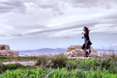 In the wind by Aerohana
