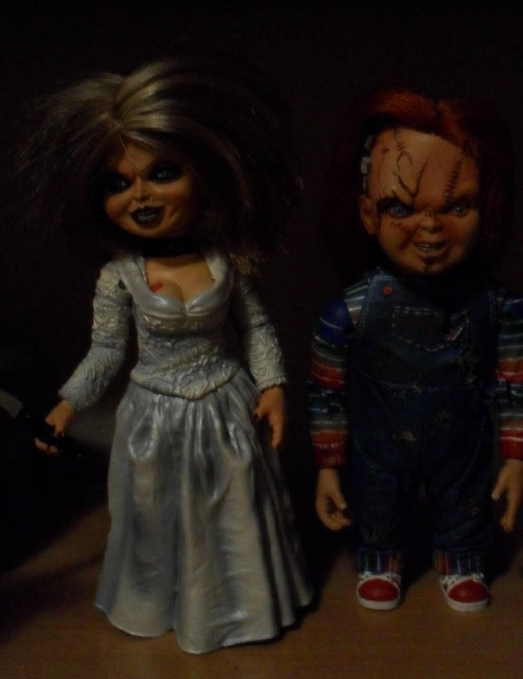 chucky and tiffany dolls by chuckysbride13 on deviantart