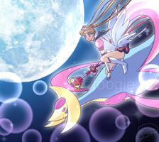 Pokemon Moon by foogie