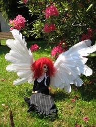 Angel in my Garden 1 by Koala-Creation