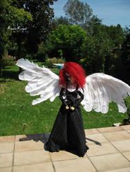 Angel in my Garden 2 by Koala-Creation