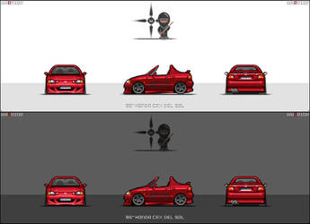 Honda CRX Del Sol by warrior by vcarbon