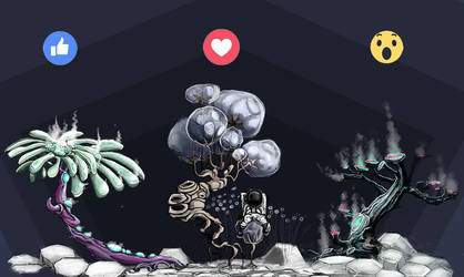 Chose your favorite Moon-Air Tree by PhaethonGames
