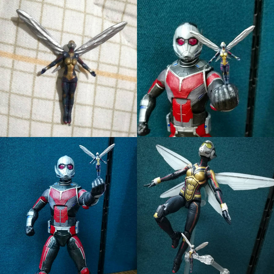 Custom Mini Wasp from Ant Man and the Wasp by Cadejo22
