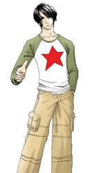 Red Star Boy by magedoze