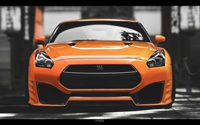 Nissan GT-R FxBodyKit by Faik05