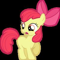 Apple Bloom Gasp by LilCinnamon