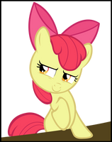 What's on your mind Apple Bloom? by LilCinnamon