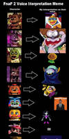 Fnaf 2 Voice Interpretation Meme by magolorandmarx
