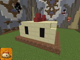 Minecraft Primal Potato Mine by magolorandmarx