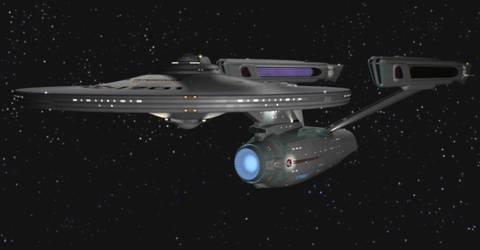 U.S.S. Enterprise NCC-1701 by kirinranger