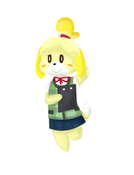 Isabelle by NintendoJoshUp