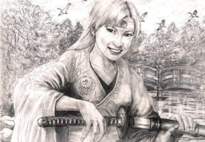 Doji Katsuko by Munenbara