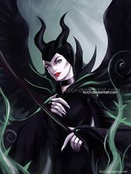 Maleficent by kccv