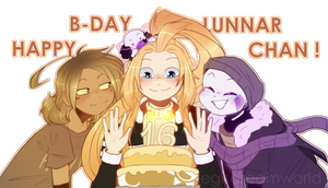 HAPPY B-DAY, LUNN!!! [B-DAY Gift] by RegiREGE