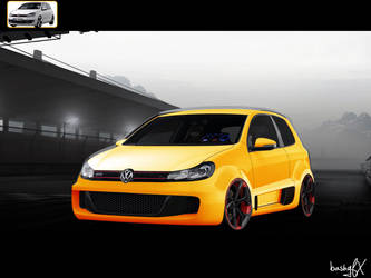 Golf GTI - Widebody conversion by BashGfX