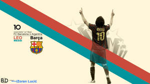 Lionel Messi Wallpaper by BashGfX