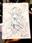 Art Trade with Ayasal at Sacanime 2017 by Zerion