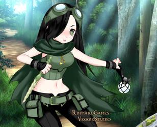 Aura Kingdom Hiyami the Reaper. by taffybratz
