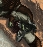 Orcs by windwyrm