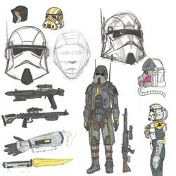 Storm/Clone Trooper Concepts by Son-of-Italy