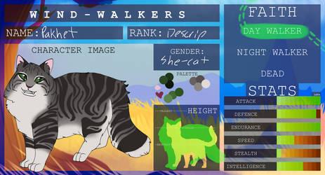 WindWalkers: Pakhet by LizardNerd757
