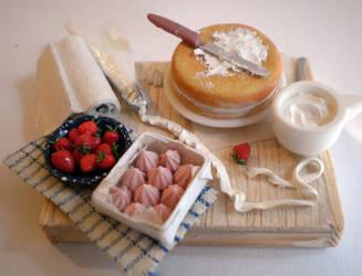 Cake Decorating Scene by vesssper