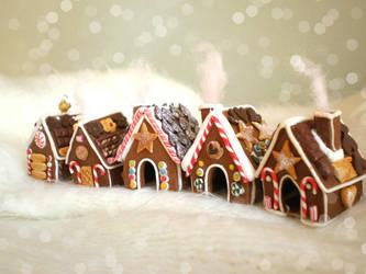 :: Gingerbread Village :: by vesssper