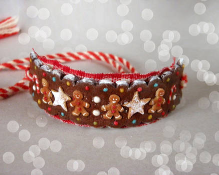 Gingerbread Cuff by vesssper