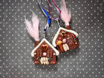 Gingerbread Necklaces by vesssper