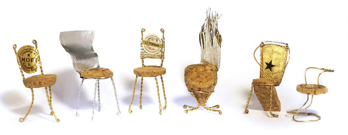 Champagne Chairs by vesssper